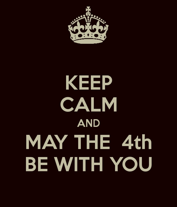 May The 4th Be With You Sacramento: May The 4th Be Wth You!