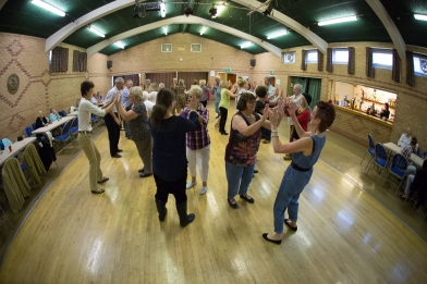 Hessle Ceilidh Band WI Centenary Celebrations-6263