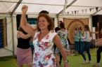 Beautiful garden Party with the Hessle Ceilidh Band-11
