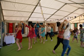 Beautiful garden Party with the Hessle Ceilidh Band-13