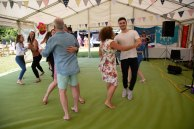 Beautiful garden Party with the Hessle Ceilidh Band-5