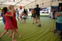 Beautiful garden Party with the Hessle Ceilidh Band-6