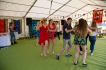 Beautiful garden Party with the Hessle Ceilidh Band-9
